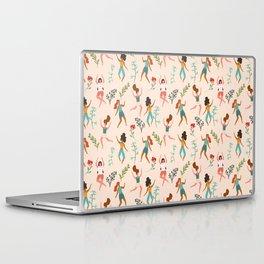 Central Park Zumba #illustration #pattern #womensday Laptop & iPad Skin
