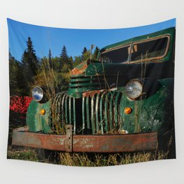 Bottle Depot Truck Wall Tapestry