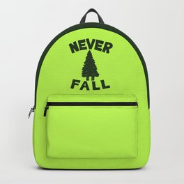 NEVER F\LL Backpack