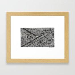 City Nest Framed Art Print