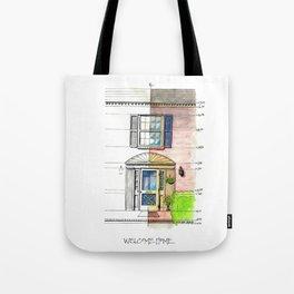 Welcome Home Lynchburg Tote Bag
