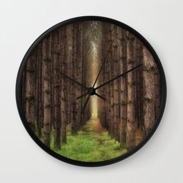 A Morning Walk Wall Clock