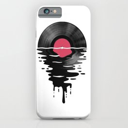 Vinyl LP Record Sunset iPhone Case