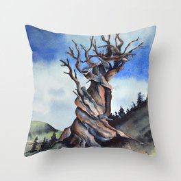 Bristlecone Throw Pillow