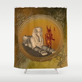 Egyptian sign Shower Curtain
