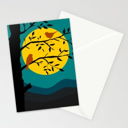 Moonlight on a Branch Stationery Cards