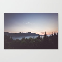 Night is coming Canvas Print