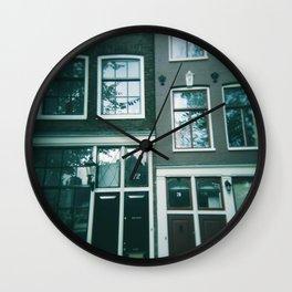 Reflections (Amsterdam) Wall Clock