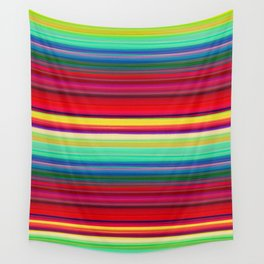 Rainbow Colors Wall Tapestry