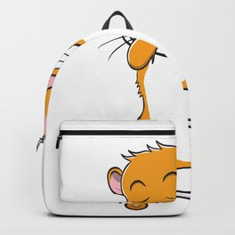Skateboarding Hamster on Skateboard Gift for Skater  Backpack