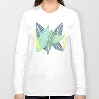 coconut wishes Long Sleeve T-shirts featuring Coconut Blossom by Melanie Hodge