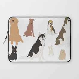 All Kinds of Dogs Laptop Sleeve