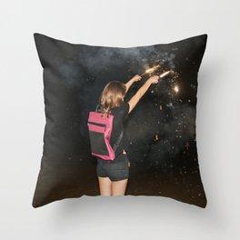 Kaboom! Throw Pillow