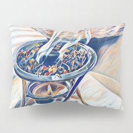 incense with apples Pillow Sham