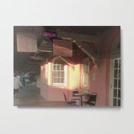 Station Cafe Metal Print