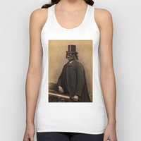 star Tank Tops featuring Lord Vadersworth by Terry Fan