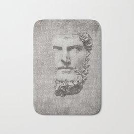 ANCIENT / Head of Lucius Verus Bath Mat