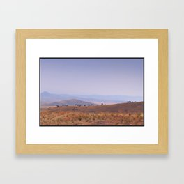 Wyoming Plains Framed Art Print