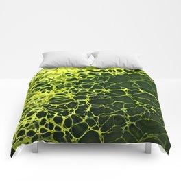 Cells - Slime Green Comforters