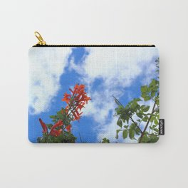 Flowers and Cloud Carry-All Pouch