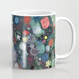 carré fleuri imaginaire 1 Coffee Mug