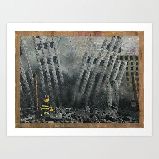 Hitting Home Art Print