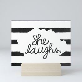 Proverbs 31:25 Mini Art Print
