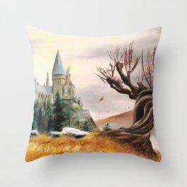 Autumnal magic... Throw Pillow