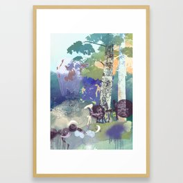 Mother Creatures Framed Art Print