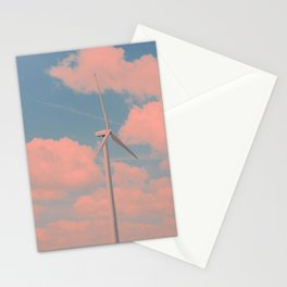Cotton Candy Turbines Stationery Cards