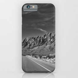 Organ Mountains #blackwhite iPhone Case