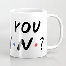 HOW YOU DOIN? Kaffeebecher