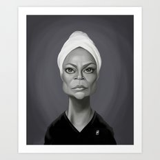 Eartha Kitt Art Print