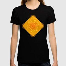 Yellow Earth Mandala T-shirt