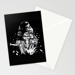 Deceased Pain Stationery Cards