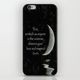 You, as much as anyone... iPhone Skin