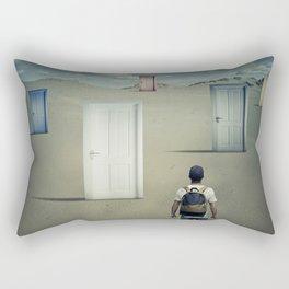 the right door Rectangular Pillow