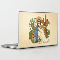 mexico Laptop & iPad Skins featuring Mexico by Anne Kelley