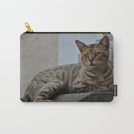 Tiles of a Cat Carry-All Pouch