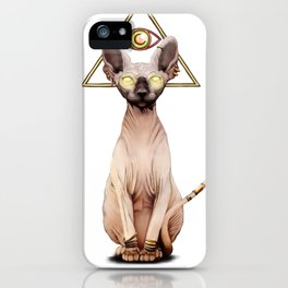 Kitty God iPhone Case