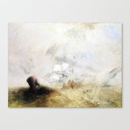 Joseph Mallord William Turner Whalers Canvas Print