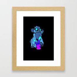 Cheeky Monkey Framed Art Print