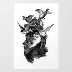 SCARECROW III Art Print