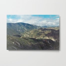 Angeles National Forest II Metal Print