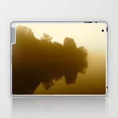 foggy reflections in sepia Laptop & iPad Skin