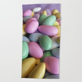 Candied Almonds Beach Towel