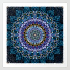 Blue Luna Art Print