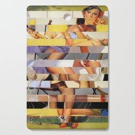Glitch Pin-Up Redux: Isabella Cutting Board