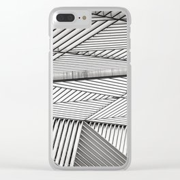 t r i a n g u l a t e Clear iPhone Case
