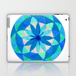 Morning's Last Star Mandala Laptop & iPad Skin